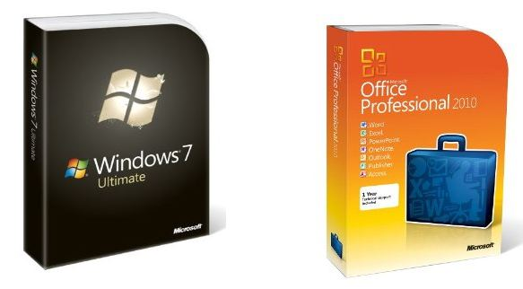 microsoft software package  u2013 windows  office  u2013 value over